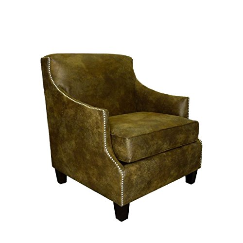 Dallas Leather Chair - Furniture Pipeline - Dallas Leather Living Room Office Club Arm Chair