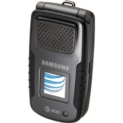 Samsung Rugby SGH A837 Black At&t Rugged 3g PTT GPS Cell Phone