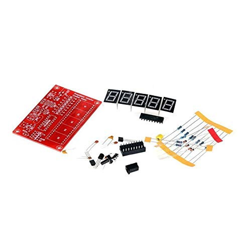 1Hz-50MHz Digital LED Crystal Oscillator Tester Frequency Counter Meter RF Electronic DIY Kits Tools PCB Board Module