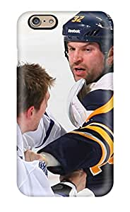 Cute Appearance Cover/tpu GLzqkiN1500oHAJd Buffalo Sabres (53) Case For Iphone 6(3D PC Soft Case)