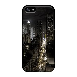 Iphone 5/5s DYsqk6241dYkNy City Tpu Silicone Gel Case Cover. Fits Iphone 5/5s