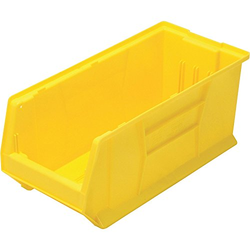 Quantum Storage Systems K-QUS953YL-1 Plastic Storage Stacking Hulk Container, 24