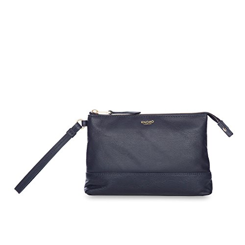 Knomo Luggage Bond Mayfair Luxe Power Purse, Navy by Knomo