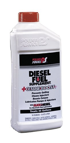 (Power Service 16 Ounce 01016-09 + Cetane Boost Diesel Fuel Supplement-16 oz)