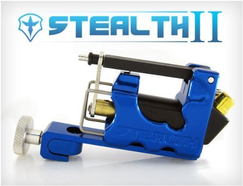 NEW STEALTH 2.0 SET Liner & Shader Tattoo Machine (BLUE) WorldWide Tattoo Supply