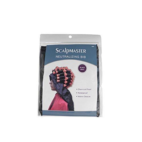 SCALPMASTER Salon Hair Styling Neutralizing Cap Bib with Sealed Pockets HC-446V