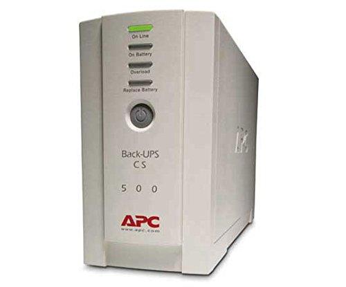 APC CS 500 UPS 300WATT 500VA BACK UPS Model BK500EI by APC