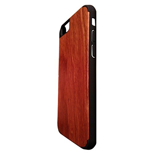 Kyuet Wooden Case Handcrafted Hua Li Wood+pc Cover Shell Skin Cell Phone Case for Iphone 6 4.7 Inch