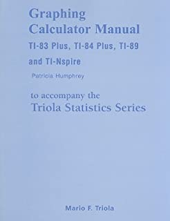 Amazon student solutions manual for elementary statistics graphing calculator manual for the ti 83 plus ti 84 plus ti fandeluxe Image collections