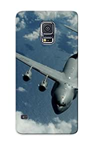 98661b05118 Hot Fashion Design Case Cover For Galaxy S5 Protective Case (boeing C-17 Globemaster Iii )