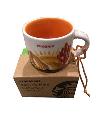 Starbucks State or City You Are Here Collection Ceramic Coffee Mug Demitasse Ornament 2 oz (Phoenix)