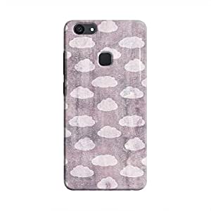 Cover It Up - Clouds Violet Sky V7 Plus Hard Case