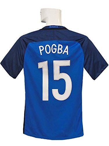 化学者毛皮狭い(ナイキ) NIKE 16 17フランス代表 ホーム 半袖 ポグバ EURO2016決勝戦マッチディテール フルマーキング 724615-439