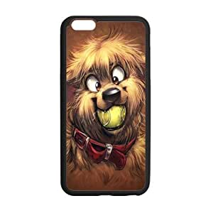 Cute Dog Personalized Custom Phone Case For iPhone 6 Plus 5.5 Plastic And TPU Case Cover Skin