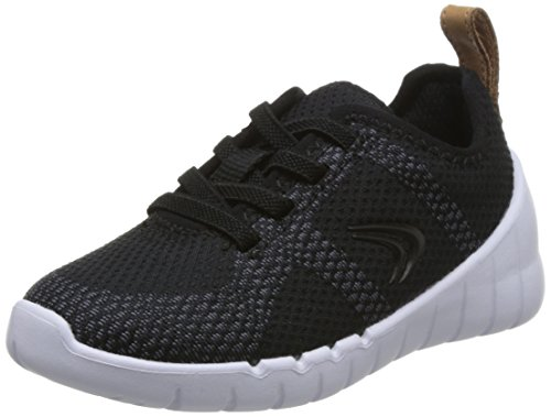 Noir noir Sprint Chaussures femme ville Clarks Flux lacets pour à de zqHBdU