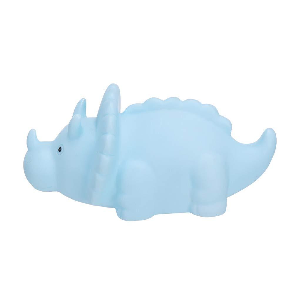 Eve.Ruan Cute Dinosaur Night Light Toys for Kids Rooms//Nursery Bedroom//Child Room Decor for Birthday//Christmas//Thanksgiving