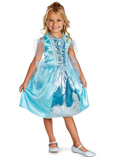 Disguise Disney Cinderella Sparkle Classic Girls Costume, -