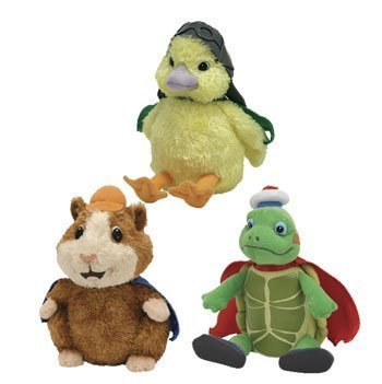 589da75bf7f Amazon.com  Ty Wonderpets Trio Kit (Turtle Tuck
