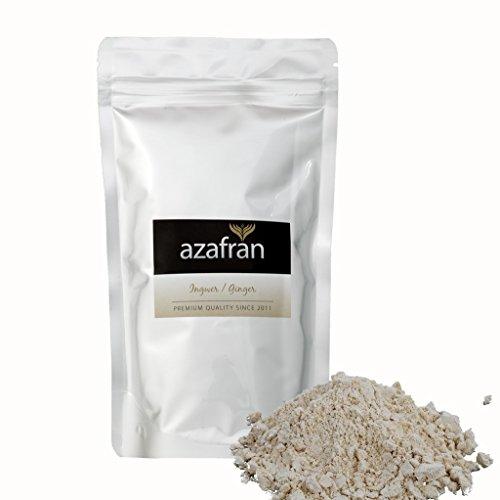 BIO-Ingwer | Ingwerpulver | Ingwerwurzel gemahlen (250g) von Azafran®