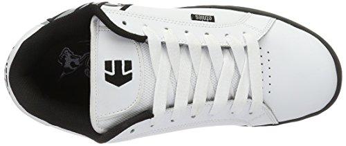 EtniesMetal Mulisha Fader - Zapatillas de casa Hombre Weiß (White/Black/Grey)