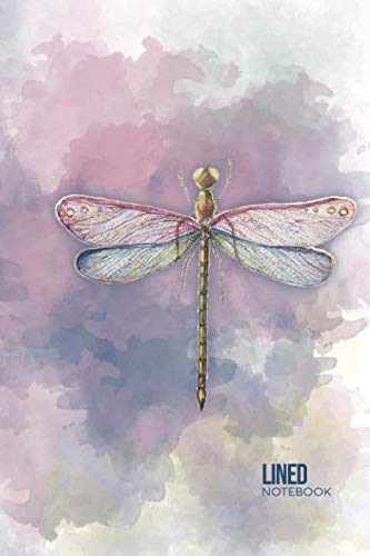 (Lined Notebook: Gift for Dragonfly Lovers, 6 x 9 Inch Matte Softcover Paperback Notebook Journal With 120 Blank Lined Pages)