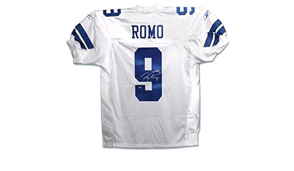 Tony Romo Cowboys Signed Authentic Jersey-Official at Amazon s Sports  Collectibles Store b236972de