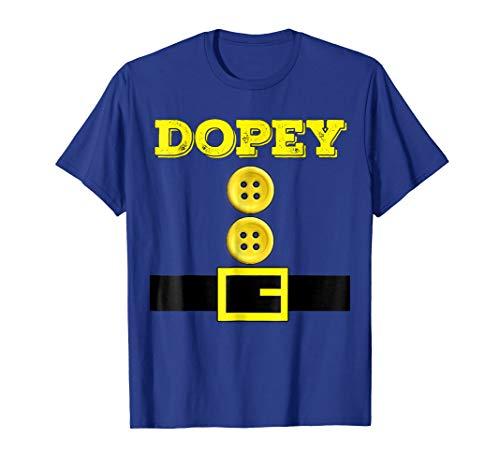 Dopey Dwarf Halloween Matching Group Costume Gift T Shirt -