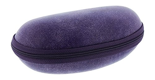 Extra Large Zip Up Eyeglass Case For Men & Women, Fits 2 Pairs Of Glasses, - Spectacle Frames Wrap Around