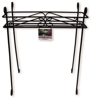 (Border Concepts 72256 30 x 25 in., Black Cambridge Planter, Pack of 6 )