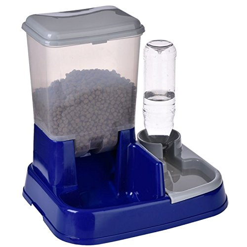 12 opinioni per Distributore automatico cibo e acqua 2in1 Combina l'erogazione di acqua e cibo