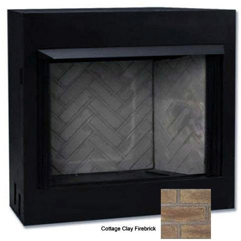 Monessen Cottage Clay Firebrick (Monessen Mcuf42e-f Magnum Series 42-inch Radiant Face Circulating Vent-free Firebox With Cottage Clay Firebrick)