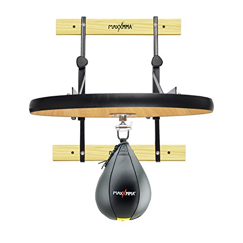 MaxxMMA Heavy Duty Adjustable Speed Bag Platform Kit 24' + Speed Ball (10' x 7')
