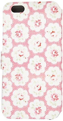 LD A000811 Case Klappetui für iPhone 6, Motiv Blumen, Rosa