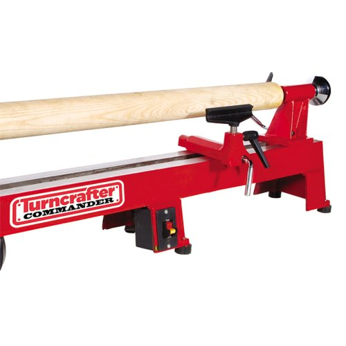 Lathe Bed Extension - PSI Woodworking TCLC10XB Commander 10-Inch Midi Lathe Extension Bed