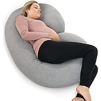 Amazon Com Leachco Back N Belly Contoured Body Pillow