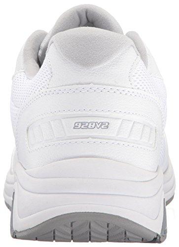 Nuovo Equilibrio Mens Mw928v2 Scarpe Da Passeggio Bianco / Bianco