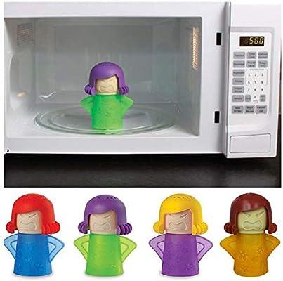 Angry Mama - Limpiador de microondas portátil sin detergente - 1 ...