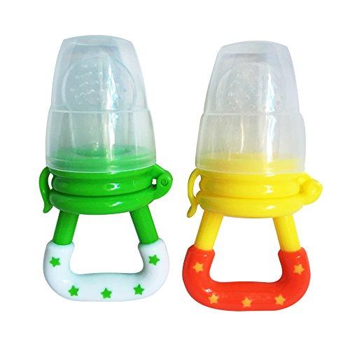 Silicone Baby Feeder Feeding L (yellow) - 5