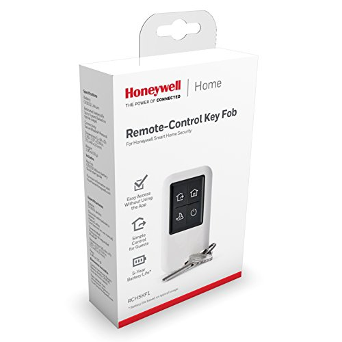 Honeywell RCHSKF1 Smart Home Security System Keyfob White - Best