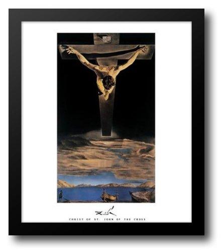 Christ of St. John of the Cross, c.1951 15x18 Framed Art Print by Dali, Salvador (Dali Christ Of St John Of The Cross)
