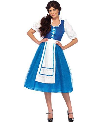 Village Beauty Adult Costume - (Beauty Beast Belle Village Costume)