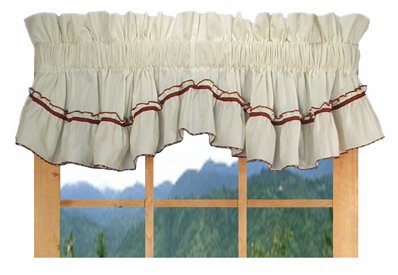 country rose valances