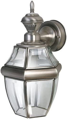 Heath Zenith 0000 HZ-4166-SA SLV Hang Carriage Lantern