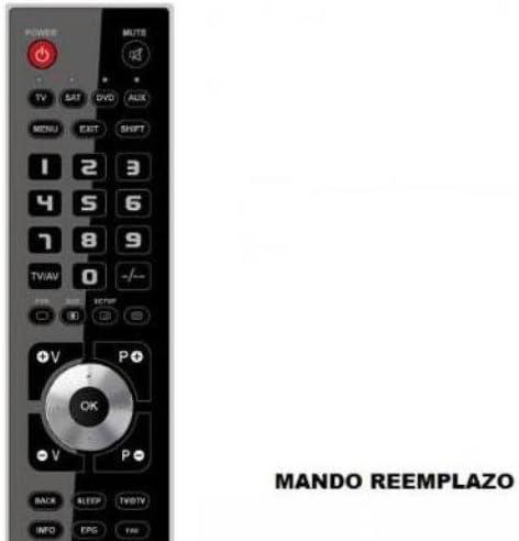 Mando TV Philips 14 PT 2666/01: Amazon.es: Electrónica