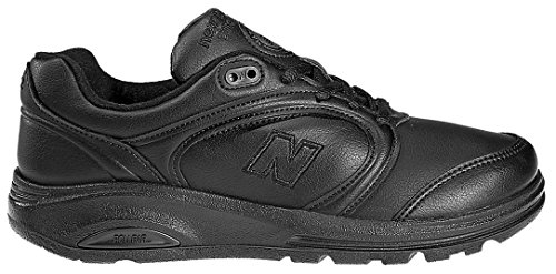 New Balance Women's WW812 Walking Shoe,Black,8 2E
