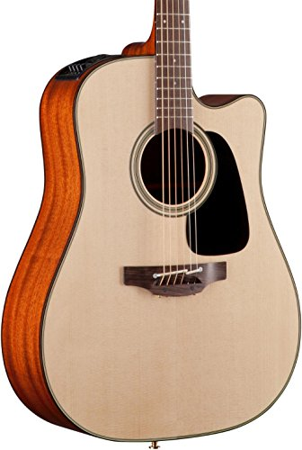 Takamine P2DC Dreadnought Acoustic/Electric w/Cutaway, Natural ()