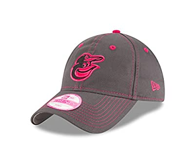 New Era MLB Baltimore Orioles Women's 2016 Mother's Day 9Twenty Adjustable Cap, One Size, Pink from New Era Cap Company