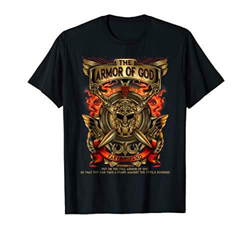 Armor Of God -Warrior Of Christ - Ephesians 6:11 T Shirt