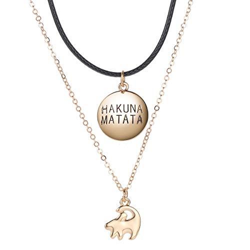 Lion Necklace King - Hakuna Pendant Matata