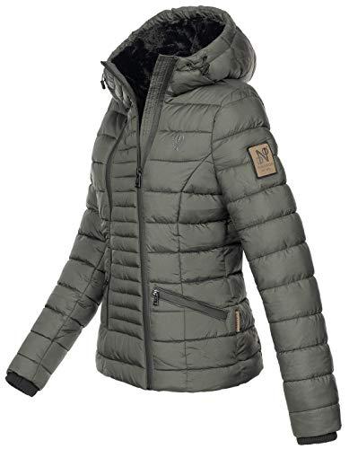 D'hiver Et En Pour Chaude B656 Fourrure Femme Veste Navahoo Anthracite EFIqX